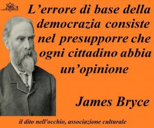 L'errore della democrazia