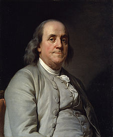 Benjamin Franklin, ritratto