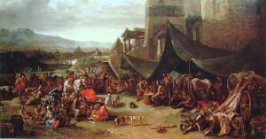 Sacco-di-Roma-Johannes-Lingelbach-XVII-sec_