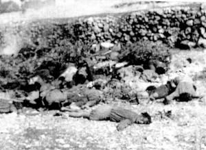 """Salme di militari italiani sottoposti ad esecuzione sommaria il 22 settembre 1943 nella strage di Cefalonia, l'eccidio di militari italiani compiuto dai tedeschi durante la seconda guerra mondiale. La procura militare di Roma ha chiesto il rinvio a giudizio di un ex militare tedesco, 89enne, accusato dell'uccisione di """"almeno 117 ufficiali italiani"""" sull'isola di Cefalonia, nel settembre '43. Si tratta di Alfred Stork, che avrebbe partecipato all'ultimo atto dell'eccidio: la fucilazione di ufficiali alla 'Casetta Rossa'.      ANSA   +++NO SALES - EDITORIAL USE ONLY+++"""