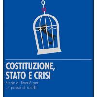 """Non è la più bella del mondo.                                                                                                                                                                          Recensione del nuovo libro di Federico Cartelli """"Costituzione, Stato e crisi"""""""