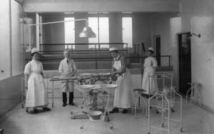 Sala operatoria epoca fascista