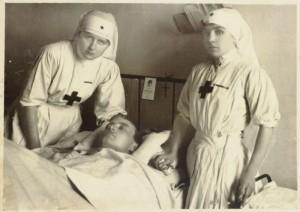 Ospedale della CRI primi del 1900