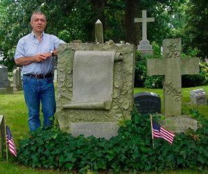 La tomba di Hermann Melville
