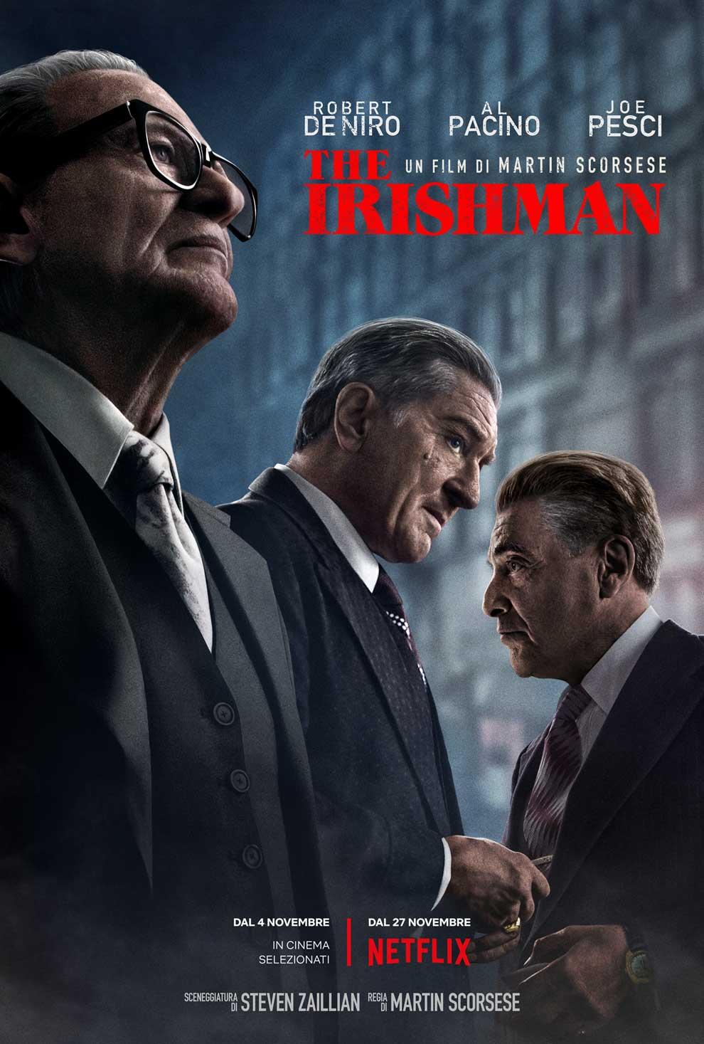 """""""The Irishman"""" di Martin Scorsese (2019)"""