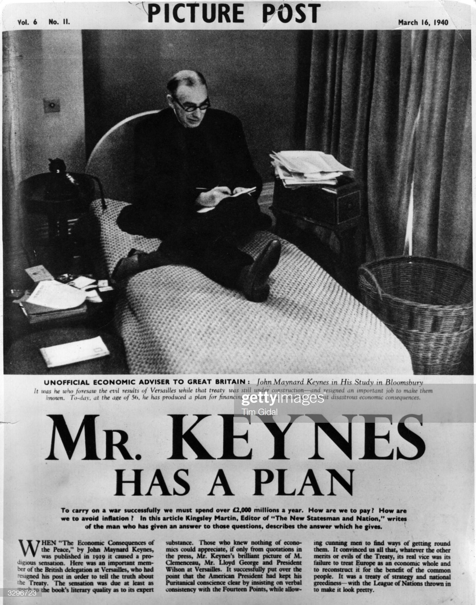 Keynes e il modello IS-LM (di M. Frittomo)